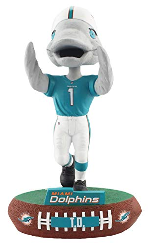 Forever Collectibles Miami Dolphins Mascot Miami Dolphins Baller Special Edition Bobblehead NFL -