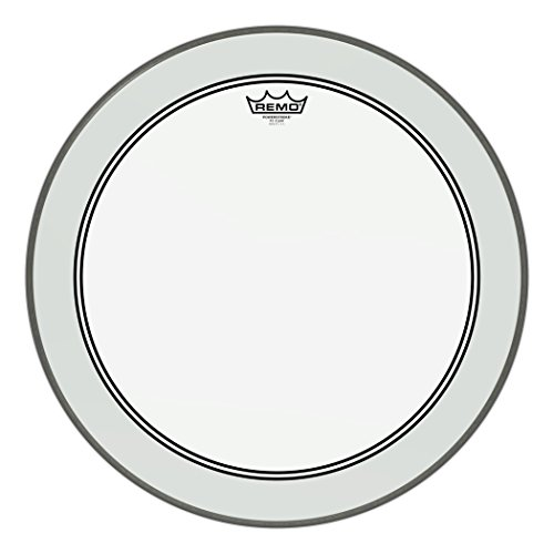 "Remo Powerstroke P3 Clear Bass Drumhead, 22"" from Remo"