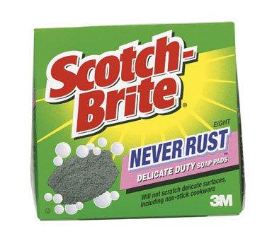 scotch brite never rust soap pads - 2