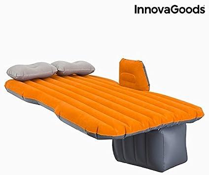 InnovaGoods   Colchón hinchable para coche   Cama impermeable   Hasta 300 Kg