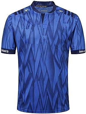 Axdwfd Traje de Rugby Rugby Jersey, Leinster Rugby Traje, Camisa casera del Atleta, 2019 Jersey de algodón Camiseta, Camiseta Ocasional Ropa, Impreso Top (Color : Blue, Size : L): Amazon.es: Hogar