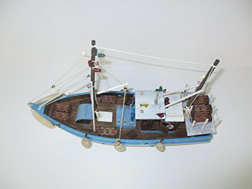 Dazzle Dees Wood Model Fishing Boat by Dazzle Dees (Image #3)