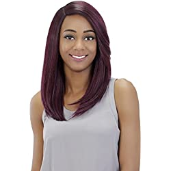 Vivica A Fox Hair Collection Athena Pure Stretch Cap Wig, Yaki Texture, FS1B/33, 10.50 Ounce