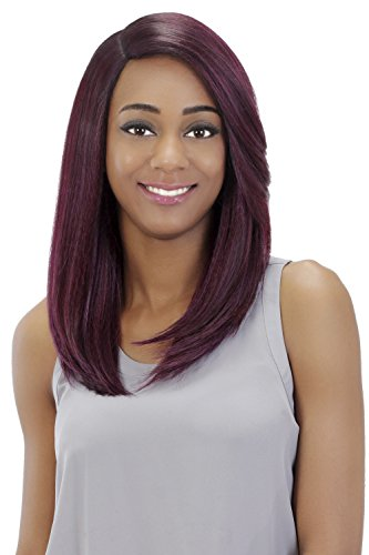 Vivica A Fox Hair Collection Athena Pure Stretch Cap Wig, Yaki Texture, STT1B/88, 10.50 Ounce