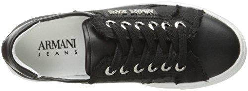 Armani Jeans Woven Sneaker 7P588-00020 Damen Sneaker (black)