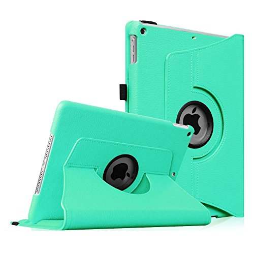 Fintie iPad mini 1/2/3 Case - 360 Degree Rotating Stand Case Cover with Auto Sleep/Wake Feature for Apple iPad mini 1/iPad mini 2/iPad mini 3, Mint Green