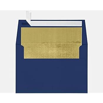 Amazon a7 invitation envelopes wpeel press 5 14 x 7 14 a7 foil lined invitation envelopes 5 14 x 7 14 stopboris Images