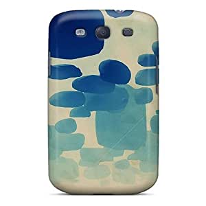 For Galaxy S3 Fashion Design Abstract Artwork Elephants Case-iko4753TBmw