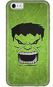Stylizedd Apple iPhone 6 Premium Slim Snap case cover Matte Finish - Screaming Hulk