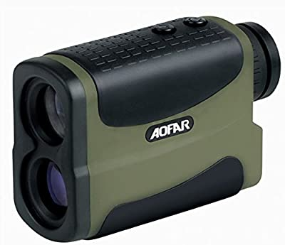 Laser Rangefinder, Ranger5 700 Yards 6 X 25mm Golf Hunting Range Finder with Speed, Scan and Fog measurement by Scott Commerce