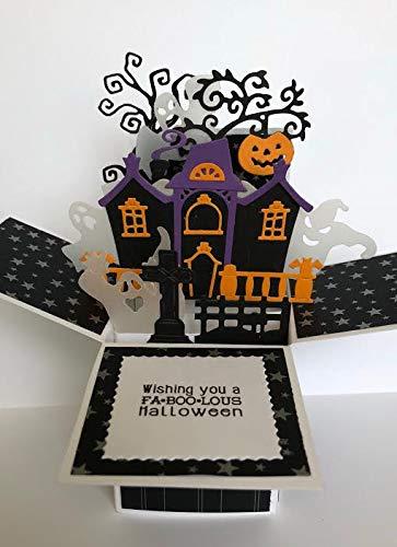 amazon com halloween card halloween card in a box halloween