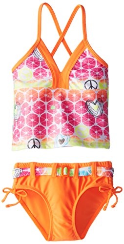 big-chill-little-girls-peace-sign-foil-spray-tankini-orange-4