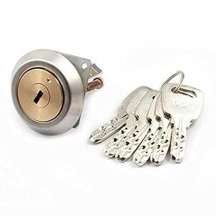 Tono de Latón eDealMax Core Inicio Tornillo de piezas metálicas del cajón del gabinete de seguridad