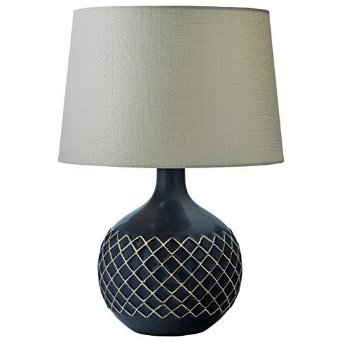 - Stone & Beam Modern Criss-Cross Lamp With Bulb, 21.5