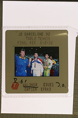 Barcelona Jean (Slides photo of Tennis players Jan-Ove Waldner and Jean-Philippe Gatien at)