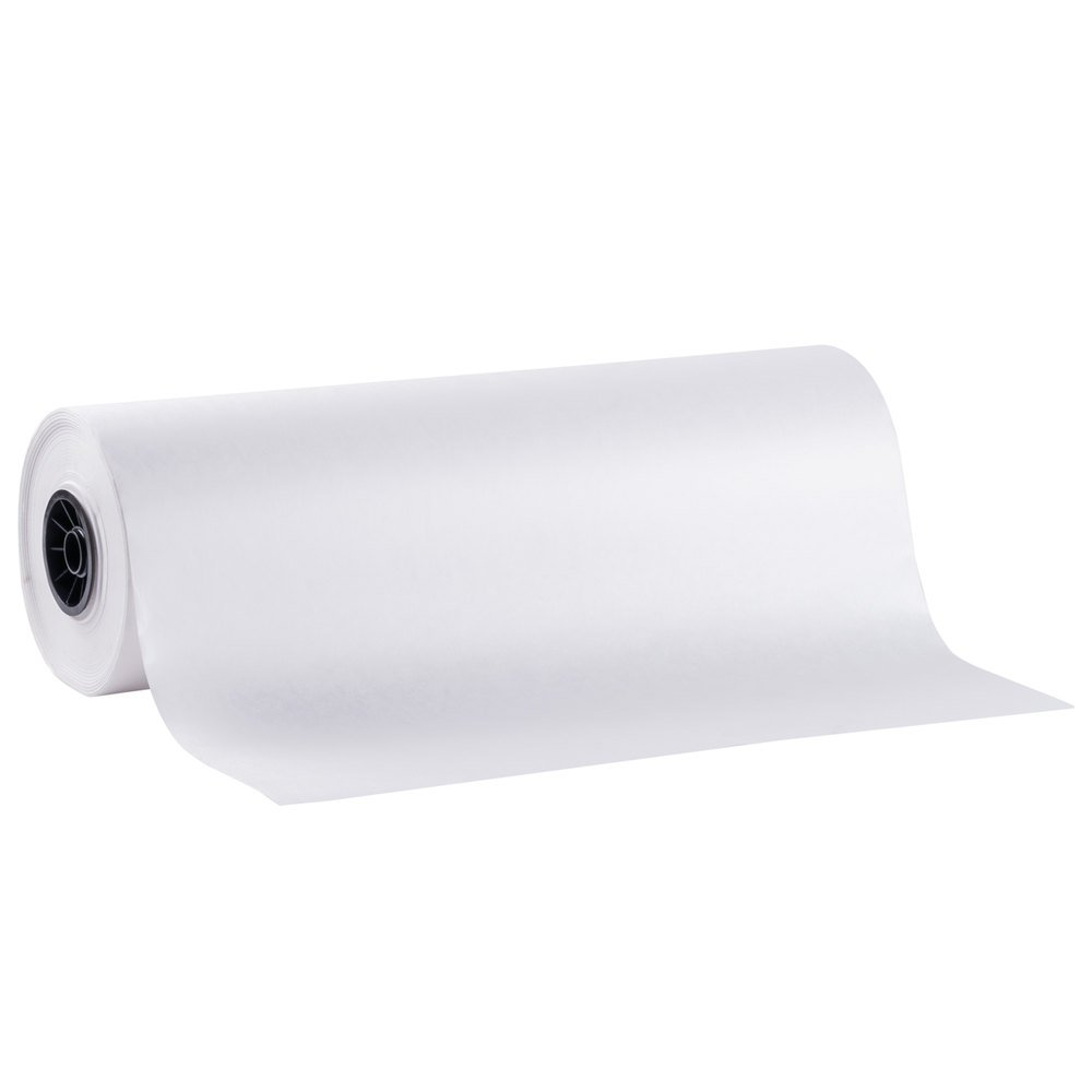 SafePro 36MG, 36-Inch White Butcher Food Paper Roll, Wrapping Disposable Steak Meat Paper, 800-Feet Roll