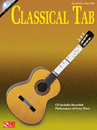 Cherry Lane Classical Tab Guitar Songbook Book
