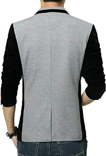 Best Grey Black Men's Slim Fit Blazer