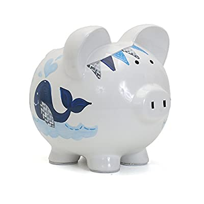 Child to Cherish Ceramic Piggy Bank for Boys