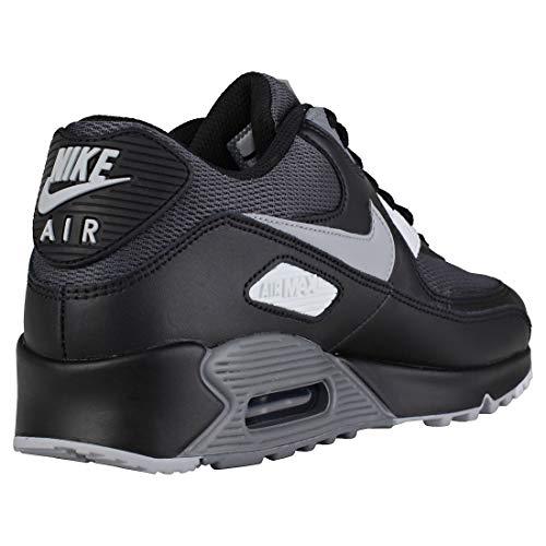 Essential Noir Wolf Grey 90 Nike Max AIR Black qvtSaS