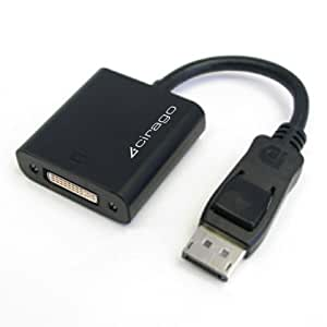Cirago DisplayPort to DVI Active Adapter (DPA1021)