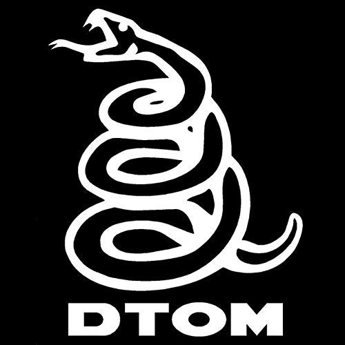 Dont Tread On Me Decal White Choose Size