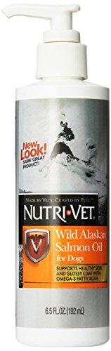 Nutri-Vet Wild Alaskan Salmon Oil for Dogs, 6.5-Ounce