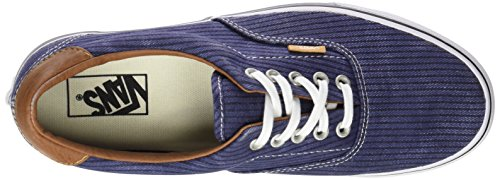 Washed Herringbone Vans Mixte Adulte Bleu Authentic Sneakers Navy 4nPnZTX