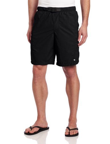 Columbia Men's Snake River II Water Swim Short, Black, Small/9""