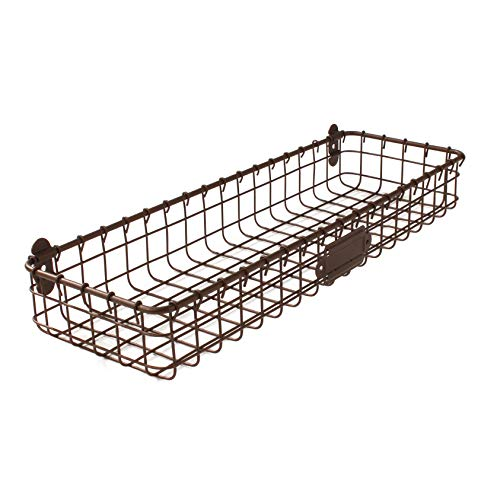 (Spectrum Diversified Vintage Wall Mount Tray, Bronze, 2 Ounce)