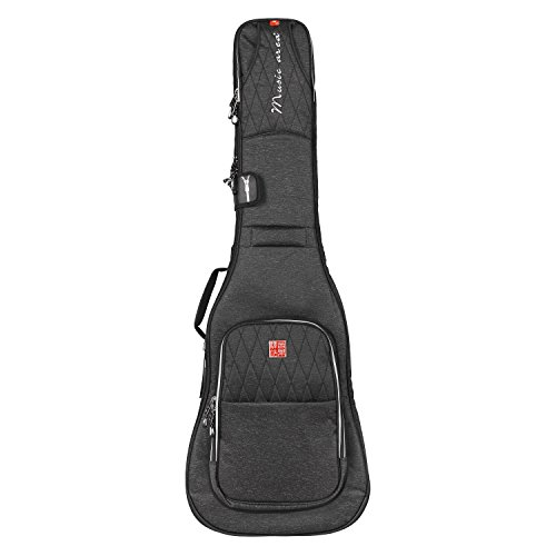 Music Area TANG30 Electric Bass Gig Bag Waterproof 30mm cushion Protection Patented - - Case Ltd
