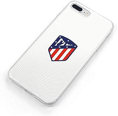 Funda Oficial Atlético de Madrid Escudo sobre Fondo Blanco para Samsung Galaxy A20e: Amazon.es: Electrónica