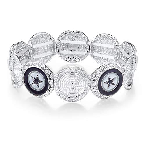 NFL Dallas Cowboys Stretch Logo Bracelet ()