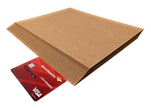 8.5 x 11 Inches 30 Point Kraft Light Medium Weight Chipboard Sheets - 25 Per Pack ()