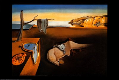 (The Persistence of Memory, c.1931 Poster Print by Salvador Dalí, 36x24)
