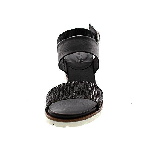 Maca Sandalen 2216 Damenschuhe Black Kitzbühel 7rq7PnO
