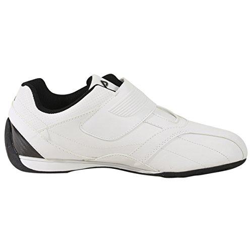 Zapatillas De Deporte De Moda Mach T Sintética Fila Hombres Blanco, Negro, Plata Metálica