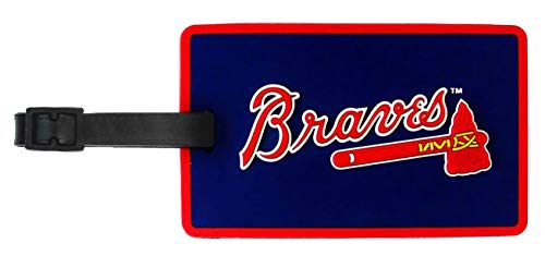 aminco Football Fanatics MLB Atlanta Braves Soft Bag Tag