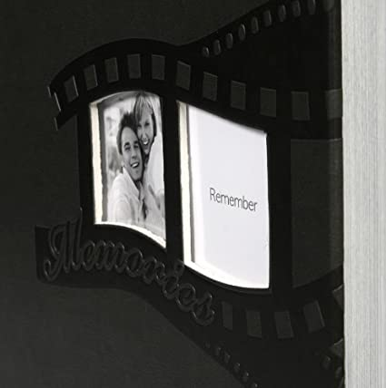 Pictures Einsteckalbum f/ür 200 Fotos in 13x18 cm mit Bildausschnitt Braun Farbe
