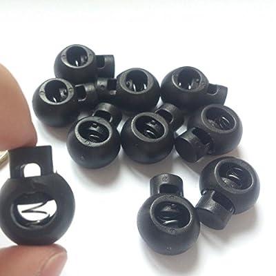 Sourcingmap Lot de 2 pratique avec boucle en plastique à boucle réglable avec corde de fixation