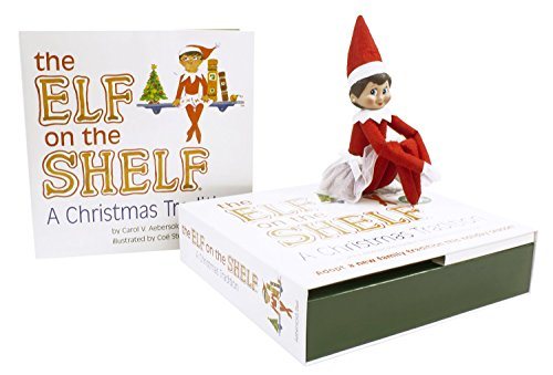 The Elf On The Shelf A Christmas Tradition Blue Eyed