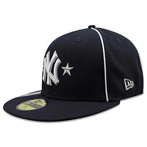 - New Era Men's New York Yankees Navy 2019 MLB All-Star Game On-Field 59FIFTY Fitted Hat (7 1/4)