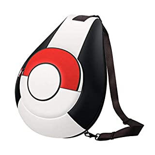 OIVO Backpack for Nintendo Switch Pokemon, Portable Shoulder Sling Bag with Waterproof PU Leather for Pokemon Trainer (Large Capacity)