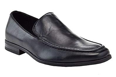 9338f604748 Adolfo Men s Lace Up Plain Toe Chelsea Oxford Dress Shoes