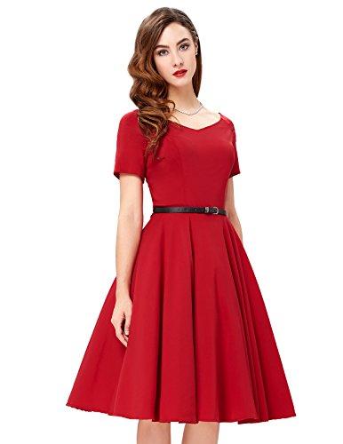 Short Sleeve Retro Dresses BP0097