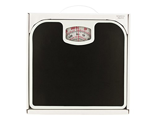 Kole Imports Mechanical Bathroom Scale with Non-Skid Surface