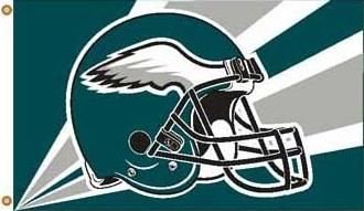 NFL Philadelphia Eagles Helmet Flag with - Philadelphia Eagles 3x5 Flag