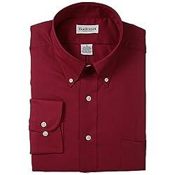 Van Heusen Men's Twill Dress Shirt