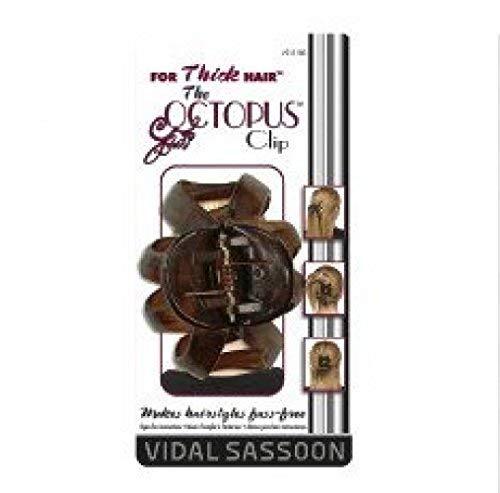 Sassoon Clips Hair Vidal - Vidal Sassoon Pro Series Octopus Hair Clip, Color May Vary