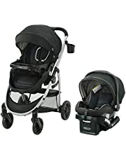 Graco Modes Click Connect Travel System with SnugRide SnugLock 35 Infant Car Seat